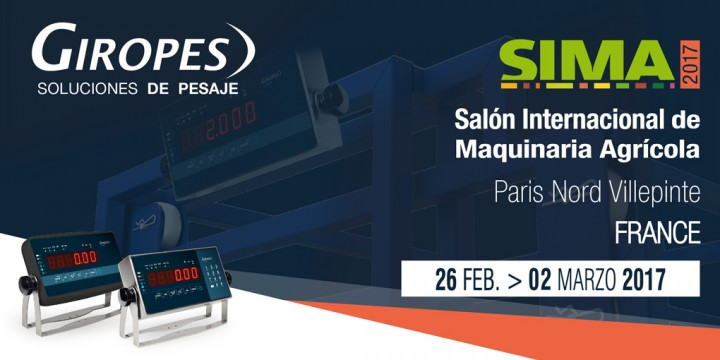 Giropès will be exhibiting in SIMA