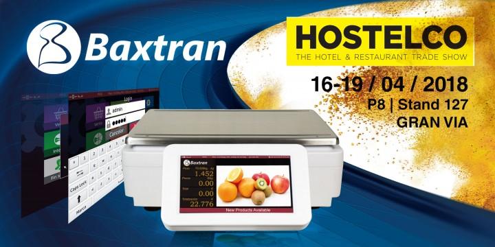 Visite el stand de Baxtran en Hostelco