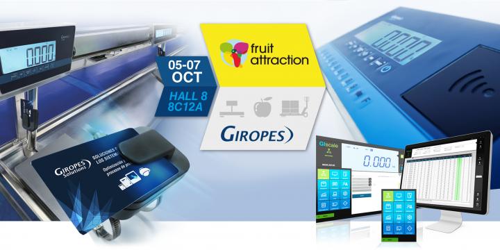 A Giropès vai estar presente na feira Fruit Attraction em Madrid