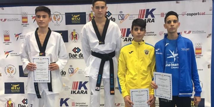 Medalla de bronce para Zerrad en el Campeonato de Cataluña de Taekwondo