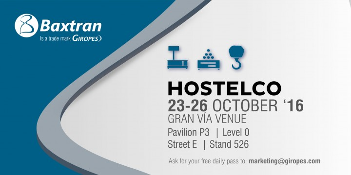 From October 23rd to 26th ALL BAXTRAN NEWS in Barcelona