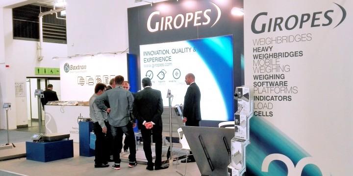 Giropès präsentiert auf der IFFA seine Lösungen im Bereich Wiegevorrichtungen und Waagen.