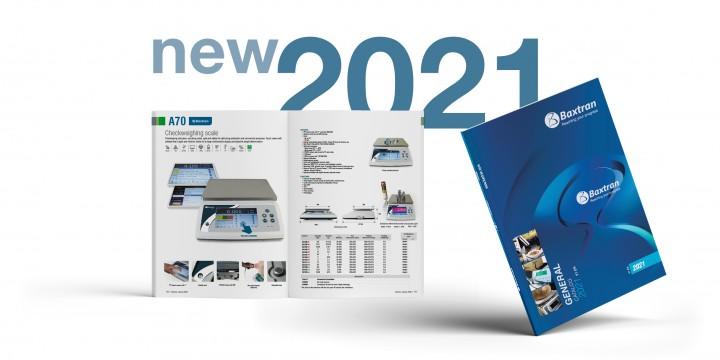 Nuevo catálogo Baxtran 2021