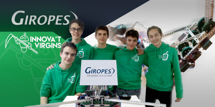 Giropès sponsor de Innova't Virgins