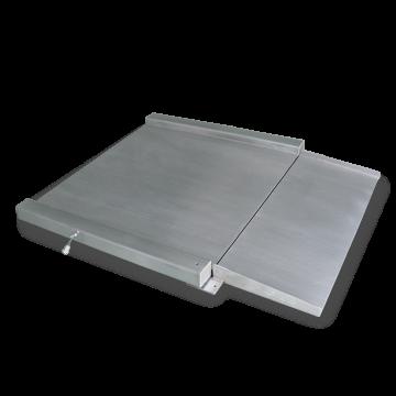 Plataforma extraplana de 4 células en acero inoxidable