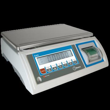 Balanza con impresora incorporada