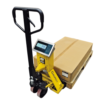 Pallet trucks weigher